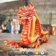 KAWAH Outdoor Garden Decoration Life Size Dragon Statues For Sale