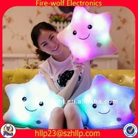 New producnt for gift dolphin body pillow china led light pillow led light up pillow for home decorter manufacturer