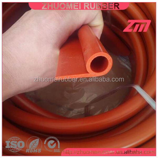 P type high temperature silicone oven door seal strip