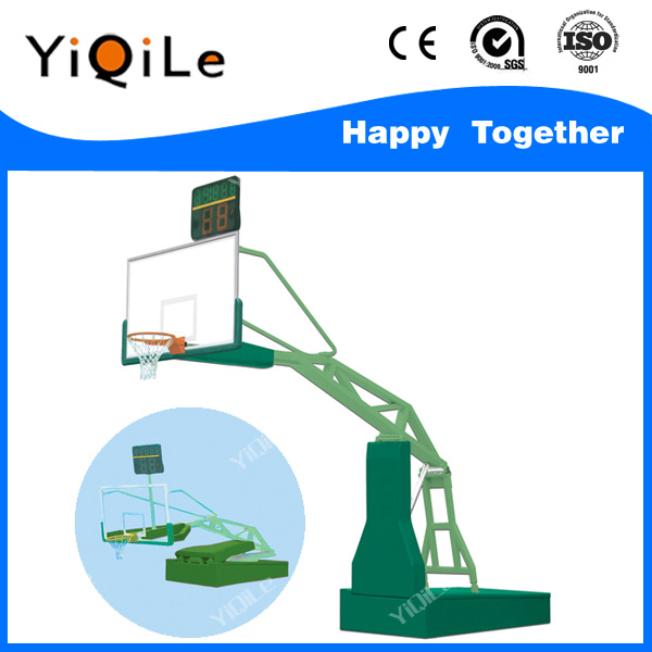 Acrylic basketball backboard basketball 24 seconds basketball base