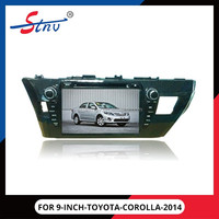 9 inch android gps car navigation for TOYOTA COROLLA ( 2014)