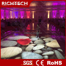 RichTech Interactive video projection 3D floor/wall system