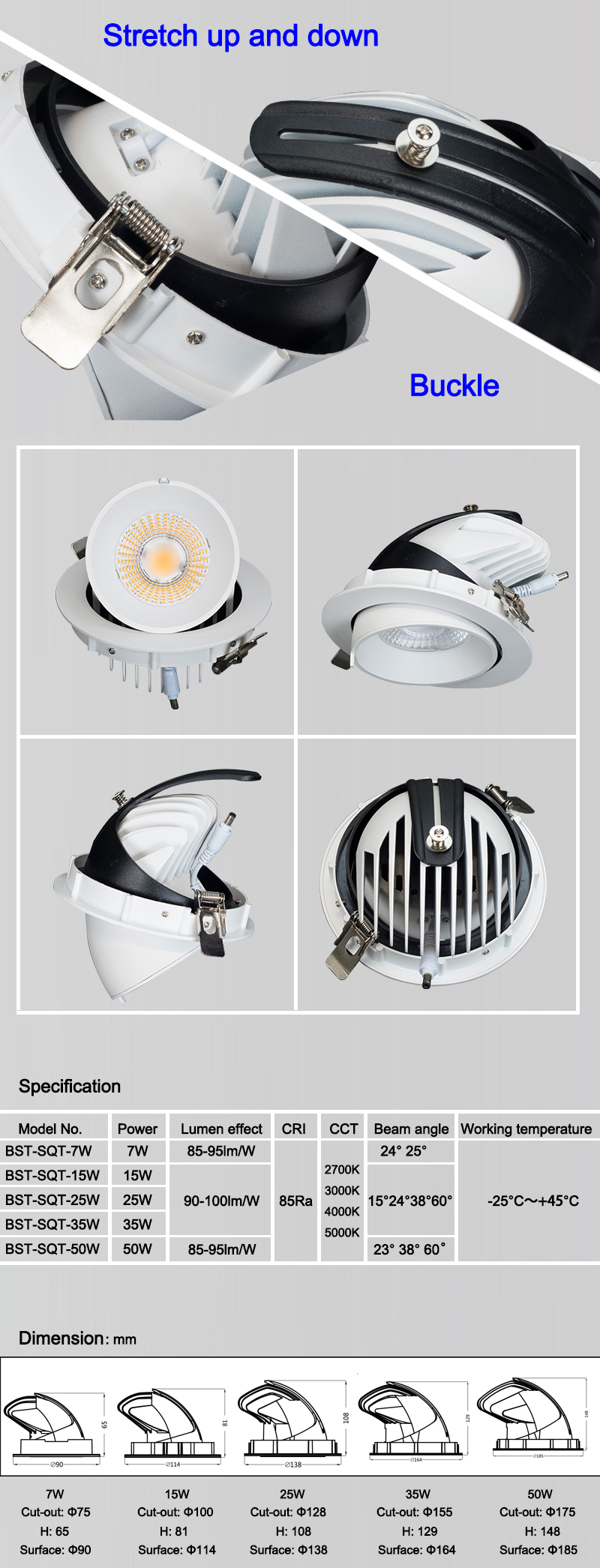 guangzhou manufacturer wholesaler best price ce rohs certificate 3 years warranty high quality cob led downlight