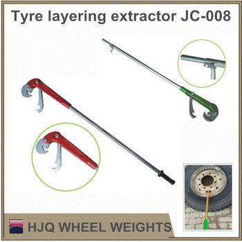 Tyre layering extractor