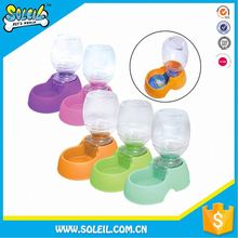 Newest Automatic Plastic Pet Water And Food Bowl For Dogs