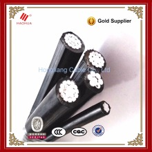 No.0660- Overhead transmission line electric Al/XLPE Triplex Service Drop ABC cable 3x70+54.6+1x16mm ABC 3x70mm