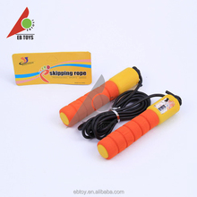 Best jump rope for Kids count 7 color glue rope rubber skipping rope for sale