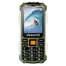 China Brand 2G IP54 Mobile Phone With Waterproof Dustproof 2.4inch 2200mAh For Elderly Cell Phone