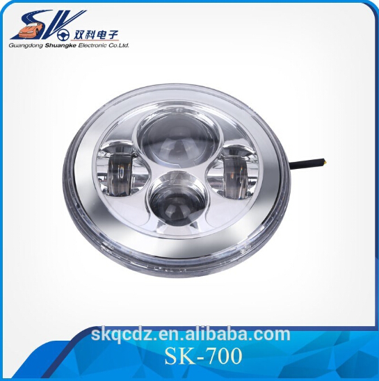 7 inch led head light for Jeep Wrangler head light & motocycle bike SK-700