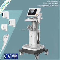 Anti-aging ultrasonic 10Mhz eye wrinkle removal hifu machine with 1.5mm transducer