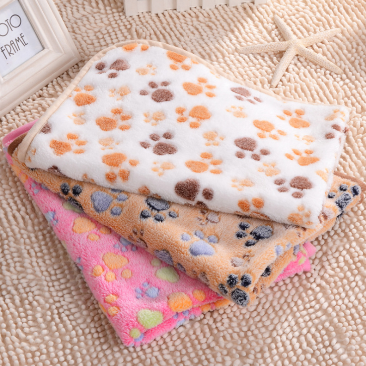pet footprint image pet accessories <strong>dog</strong> and cat beds accessories pet blankets in stock