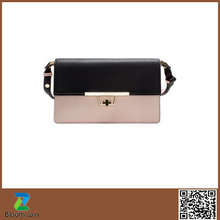 2015 Famous European Style Pu Handbags Fashion branded women bag