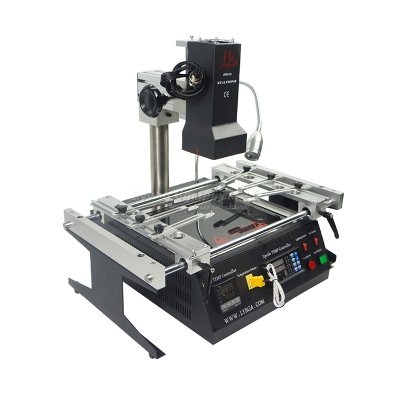 ACHI IR6500 infrared BGA Soldering Rework Station IR 6500 For Motherboard Chip PCB Refurbished Repair System Solder <strong>Welding</strong> 220V