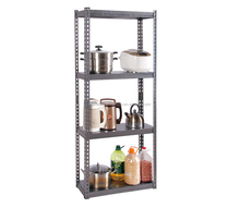 Bookshelf with storage bins Single Sided Bookshelf Knock Down Metal Bookshelf