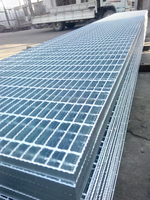 serrated or Flat bar steel grating (ISO9001)