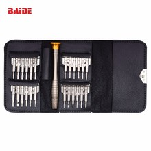 All in One Torx Bit Set Hot Sale 25 in 1 Wallet Screwdriver Set for iPhone Hand <strong>Tools</strong> 20Sets