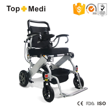 Rehabilitation Therapy Supplies small compact electric wheelchair for travel