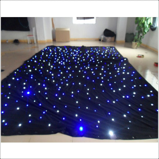 Led star drop curtain led twinkling stars led curtain lights wedding decoration