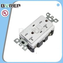 YGB-095 Best quality 125v gfci electrical power meter socket
