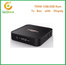 Newest t95m smart iptv box full HD media player 4k install google play store android tv box