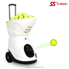 New intelligent S4015 with remote control tennis ball training machine for sale