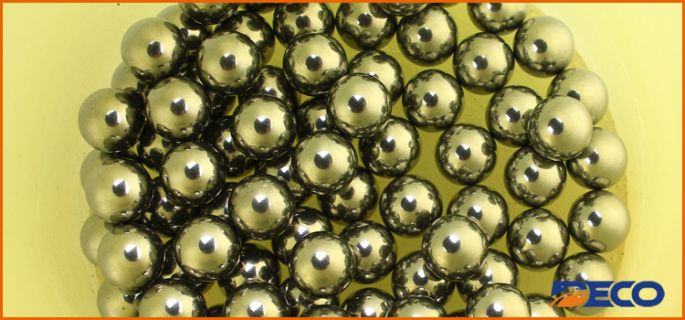 Stainless Steel Lab Ball Mill Grinding Media, Highly Polished Stainless Steel Grinding Balls