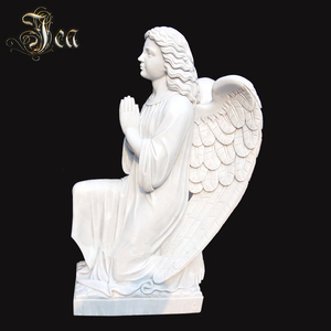 Cheap polished marble carving large heart granite tombstone for monument