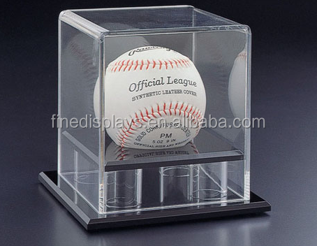 Display Case for Baseballs and Tennis Balls