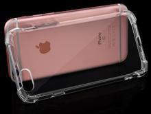 2017 new ultra thin clear TPU 5.2 inch cell phone case for iphone 7