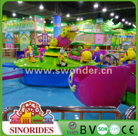 Sinorides Indoor Kids Amusement Rides Water Snail Attacking for Sale