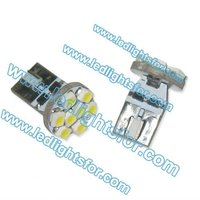 HSUN super quality T10 LED 8smd canbus led