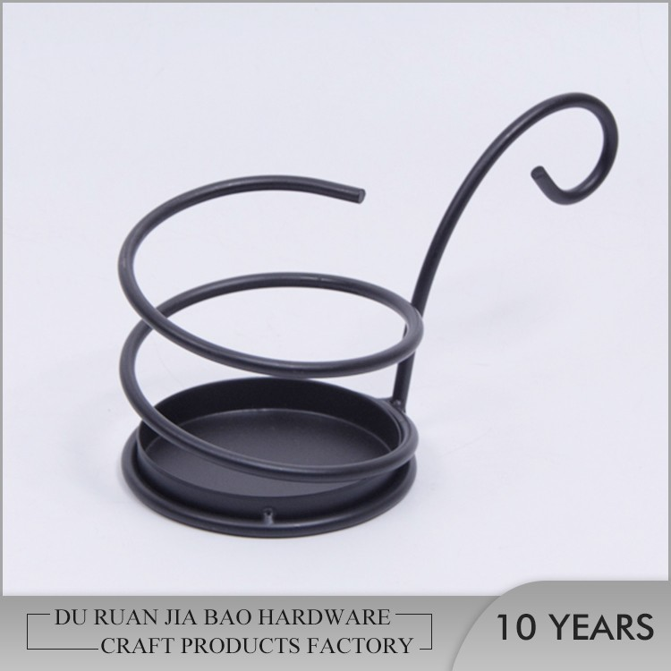 New arrivals one piece iron votive candle holder with hanging hook