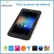 smart pad android 4.2 tablet pc with sim card slot shenzhen factory