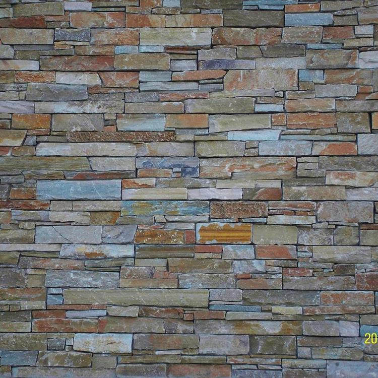 2017 hot sale cheap grey natural granite wall stone design for sale
