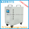 KAYO PS3215B 1.5KW Solar system inverter, 3KW Polymer Lithium battery 3kwh,home household off grid solar power system