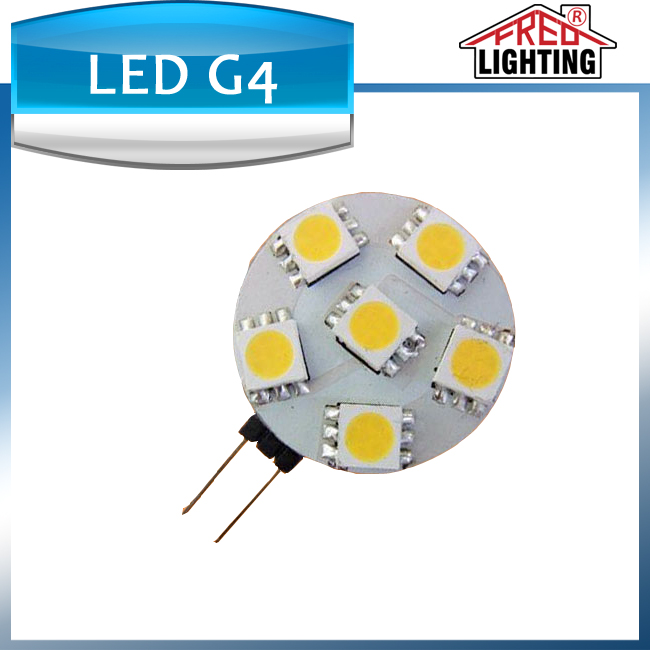 made in china led g4 tube lights high lumen smd 5050 6leds led light