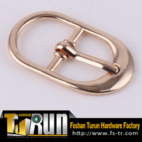 China manufacturer alloy pin buckle with laser