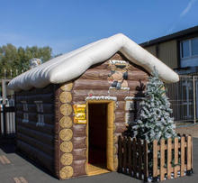 inflatable house paint booth for Chrismas decoration