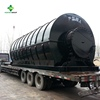 10KG to 30T Automatic Waste Tire Tyre Plastic Pyrolysis Recycling Plant To Fuel Oil Further Process To Diesel