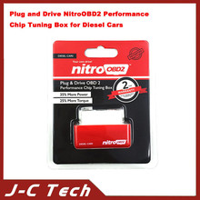 Plug and Drive NitroOBD2 Performance Chip Tuning Box for Diesel Cars with 1 Year Warranty