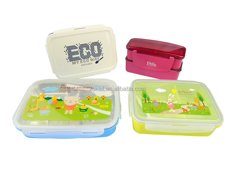 easylock japanese style bento lunch box with cooler bag buy japanese style bento box japanese. Black Bedroom Furniture Sets. Home Design Ideas