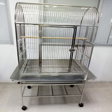 2017 New Factory Direct Real 304 Stainless Steel Bird Cages