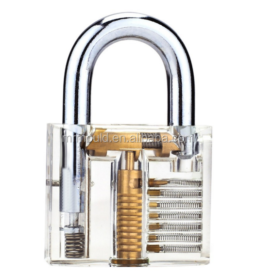 transparent pick cutaway inside view padlock lock locks for mith practical training skills suppliers wholesalers online in Xiam