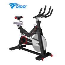 Professional Fitness Equipment Stationary Exercise Spin Bike with LCD Monitor