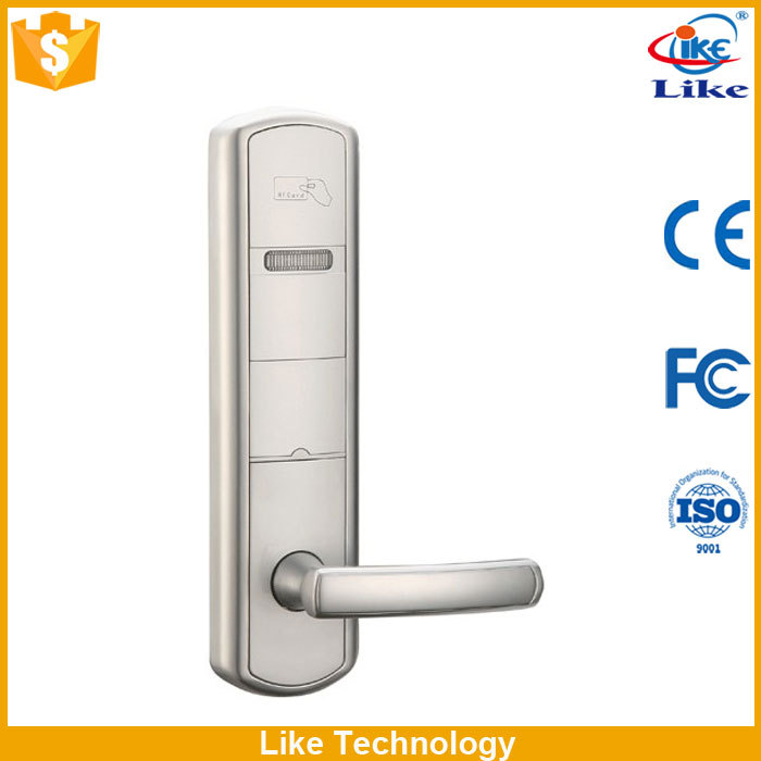cheapest price hotel card lock with door handle keys