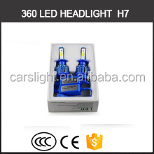 Alibaba hot products 20w low beam 360 degree high power h7 led headlight bulbs autozone for car