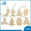 Nature Color, Simple Shape, Cheap Price For Christmas Wood Hang Deco