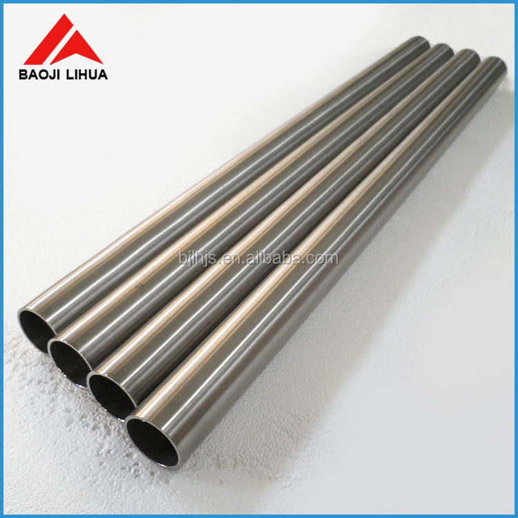 Price Pure Tungsten tube for sapphire crystal growth