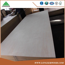 furniture grade 1220mmX2440mm E1 EO glue laminated plywood for cabinets