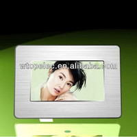 silver plated photo frame photoframe digital